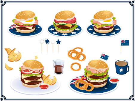 Hamburger Set Australia
