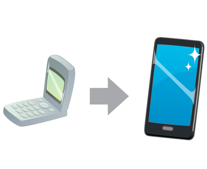 Change model to smartphone
