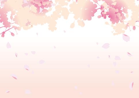 Spring cherry frame 5