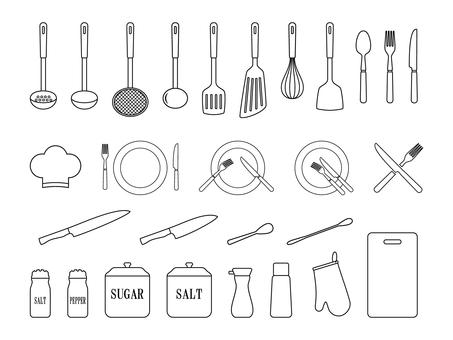 Kitchen set 1 white