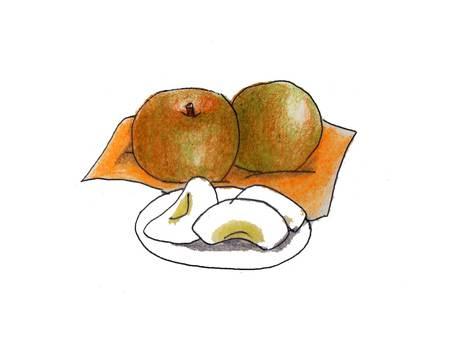 Pear (豊水)