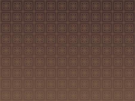 アラベスク柄の背景素材