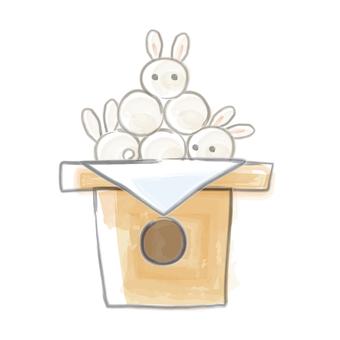 Rabbit's moon dumpling