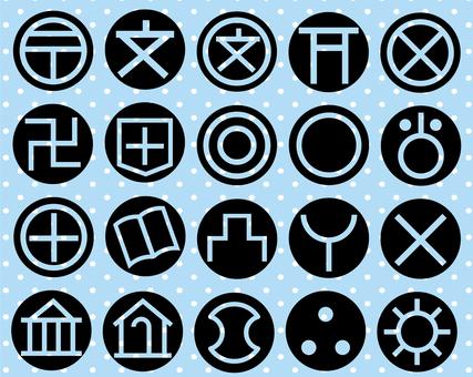 Map symbol set 2