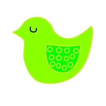 Green bird 8