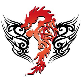 tribal-dragon-006