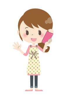 Housewife A * Smartphone 01