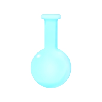Round bottom flask (no contour line)
