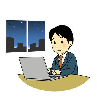 Desk work (personal computer)