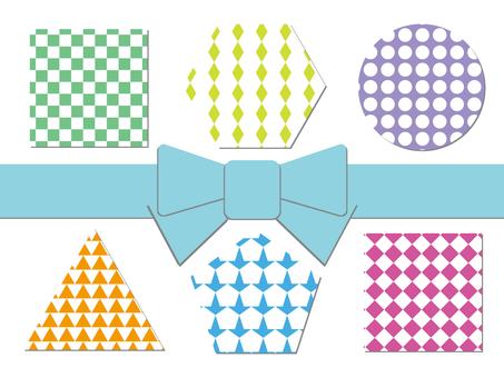 Pattern set using figures