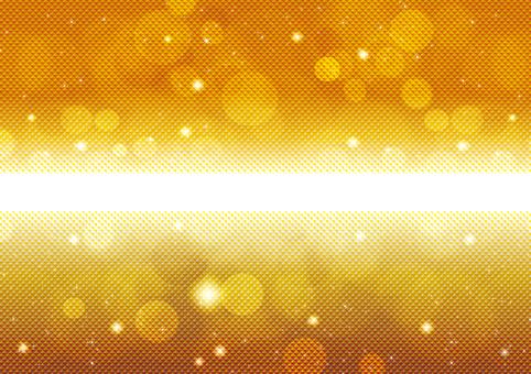 Gold sparkling 50
