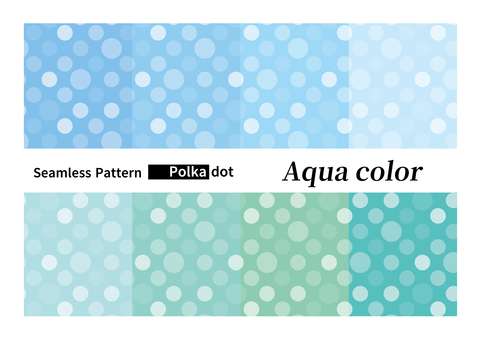 Seamless dots background pattern