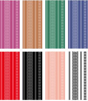 Hakata weave pattern