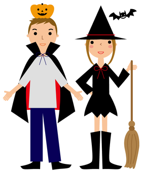 Halloween couple