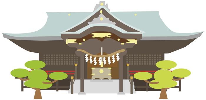 Shrine main building