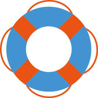 Marine floating wheel