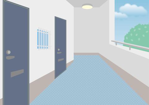 廊下 マンション 工事 施工 防水