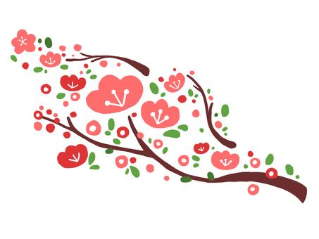 Illustration of plum