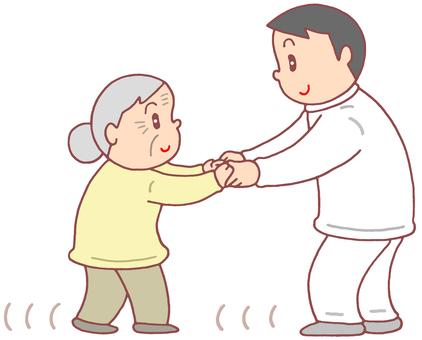 老年人步行訓練