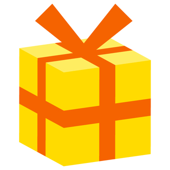 Present box (solid) yellow