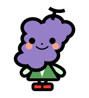 Simple grape's character