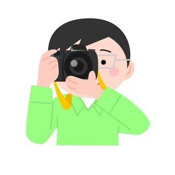 남성 카메라
