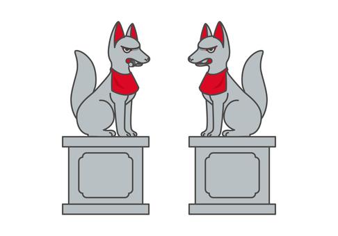 狛 fox