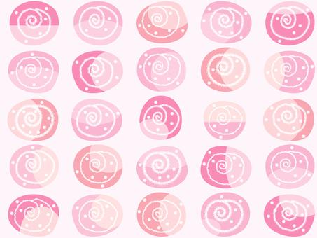 Pattern _ swirl pink