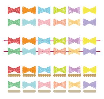 Ribbon label · ribbon decoration