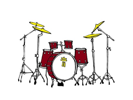 Drum set (png version is transparent background)