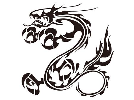 Tribal dragon - 011