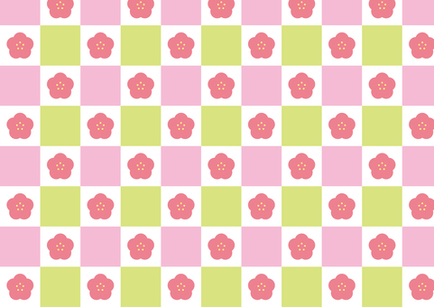 Plum pattern checker pattern
