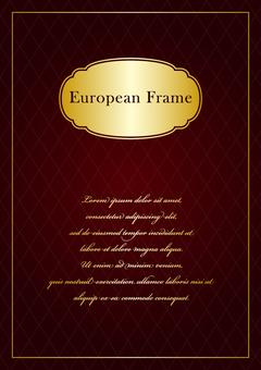 European frame 006