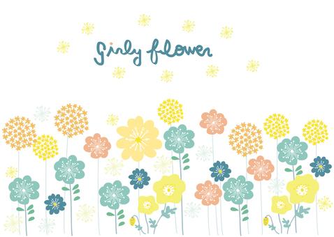Girly flower