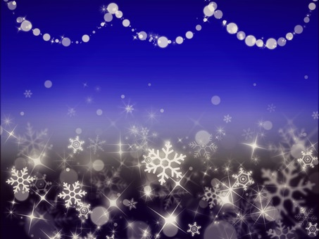 Winter sparkling background