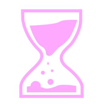 Hourglass (pink)