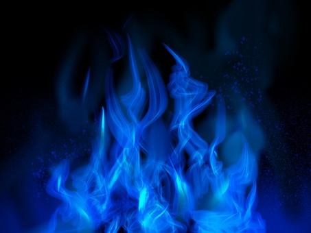 青い炎 綺麗