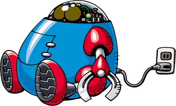 機器人充電