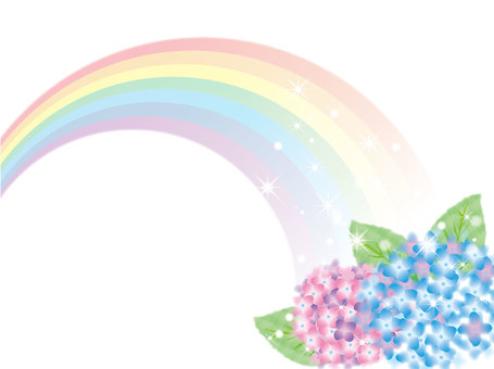 Hydrangea Rainbow 3-1