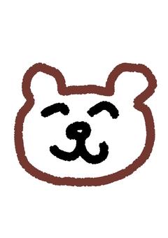 Handwritten bear
