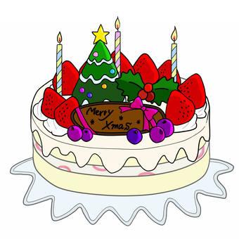 圣诞蛋糕2