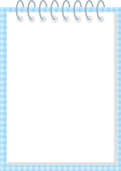 Notepad frame