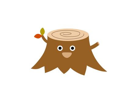 Illustration of a stump