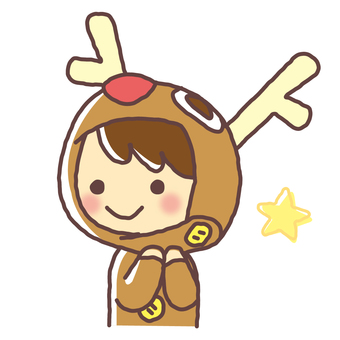 Reindeer's costume (004)