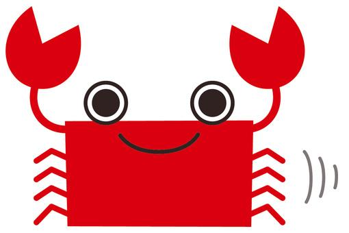 Secret crab