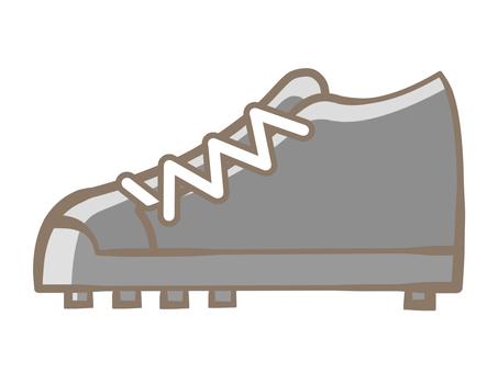 Spike shoes-black 190721