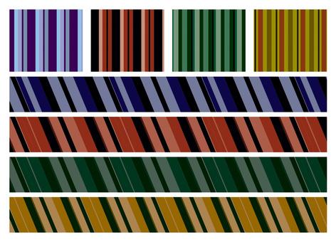 Japanese color _ stripe pattern