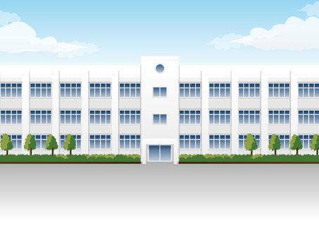 학교 건물 1
