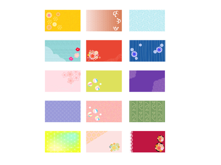 Japanese style business card 2