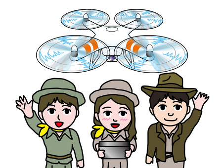Voice Scout for piloting drone